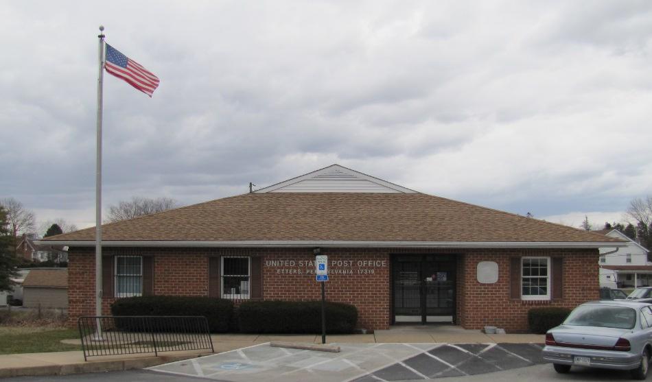 Etters, Pennsylvania Post Office Photo